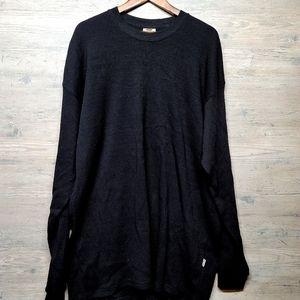 Vintage Pro Club Thermal Knit Long Sleeve Shirt.